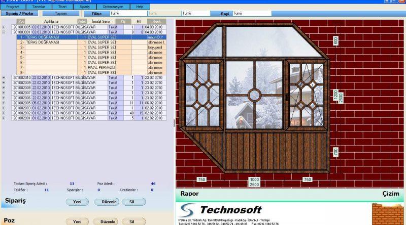 Pd Ekstra Pvc Kapı Pencere Otomasyon Program