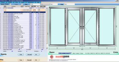 Alüminyum Kapı Pencere Çizim Programı
